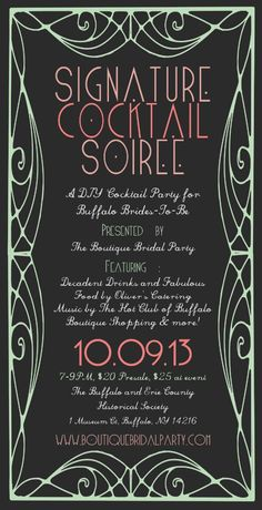 Buffalo Event: Join us at the Signature Cocktail Soiree for DIY party & decor tips!