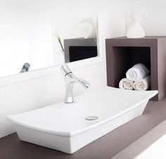 Buy Hindware Torrin Table Top Basin-91034 in Washbasins through online at NirmanKart.com