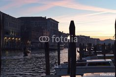 Die Kanäle von Venedig