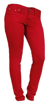 Color Coded Red Skinny - $39 Plus Size Fashion, Skinny, Red, Pants, Color, Trouser Pants, Colour, Thin Skinny, Women's Pants