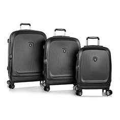 Luggage Sets Collections | Heys Gateway SmartLuggage 3 Piece Set Black * For more information, visit image link. Note:It is Affiliate Link to Amazon.