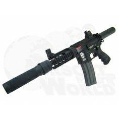 G&G GR-16 CRW Cannon Airsoft Rifle Airsoft Gear, Cannon