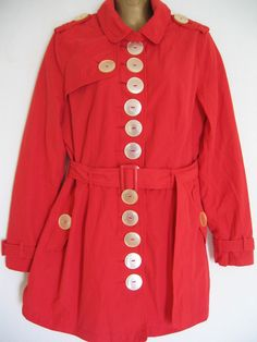 Jacket Buttons, Lady In Red, Button Up, Slim, Shirt Dress, Shirts, Coats, Dresses, Fashion
