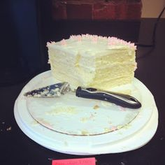 DIY WEDDING CAKE! Vanilla ButterMilk Cake. The Most amazing recipe ever!! | Weddingbee Photo Gallery