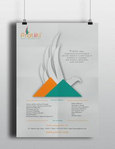 Corporate branding for a psychological consultancy, with the Phoenix bird as its logo.