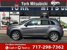 2013 *Mitsubishi*  *Outlander* *Sport* *SE*  56k miles Call for Price 56747 miles 717-298-7362 Transmission: Automatic  #Mitsubishi #Outlander Sport #used #cars #YorkMitsubishi #York #PA #tapcars