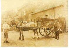 Love the old Horse and Cart, postcard is from Bewdley Museum, Worcestershire..says on back..John Tolley, Haulier, photographed in Dog Lane, Bewdley. He was listed in Kellys 1904 Directory as a Coal Merchant.
