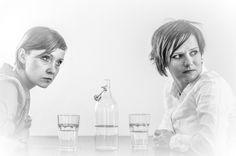 Spektakl w przygotowaniu. Anna Kukułowicz (OTL) i Ewa Pawlak. Fot. Przemek Wiśniewski