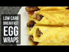 Low-Carb Breakfast Egg Wrap – Forkly