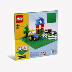 Lego Product Customer Reviews: LEGO Green Building Plate-(lego)