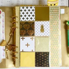Planner Filofax Dashboard, Page Marker, Divider (A5) for kikki.K, Kate Spade, Filofax or 6-Ring Agenda by papergoldmine on Etsy https://www.etsy.com/listing/248714713/planner-filofax-dashboard-page-marker