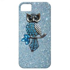 Sparkles  Glitter owl iPhone 5 case.  $39.95  (Love this one!)  Look at the eyes!