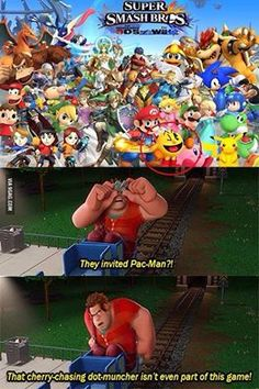 wreck it ralph on the new smash bros
