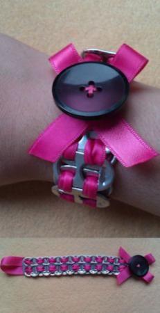 pulsera anillas refresco pulsera anillas refresco anillas  lazos  botones totalmente a mano #EasyPin