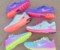 tenis coloridos
