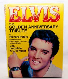 Elvis  The Golden Anniversary Tribute book by CollectableMrJones