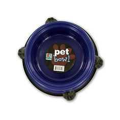 Round Pet Bowl with Paw Base *** You can find more details by visiting the image link. (This is an affiliate link and I receive a commission for the sales) Natural Pet Food, Star Wars, Dog Feeding, Pet Bowls, Food Storage, Storage Area, Cool Pets, Pet Clothes, Pet Accessories