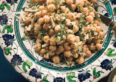 Chickpea Salad with Lemon, Parmesan, and Fresh Herbs | 32 Portable Sides For Summer Picnics