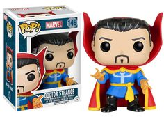Amazon.com: Funko POP Marvel: Doctor Strange (Classic) Vinyl Figure: Funko Pop! Marvel:: Toys & Games