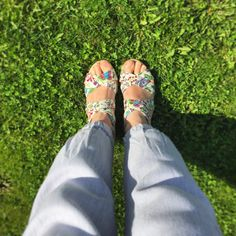Shoefie - Gillian Lucca - Hush Puppies - Sandals - Wedges - Floral Print Palm Beach Sandals, Wedge Sandals, Hush Puppies Sandals, Lucca, Hush Hush, Floral Prints, Wedges, Women, Fashion