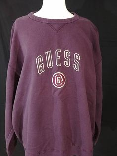 2c861a229ce Vintage 1990 s Guess Extra Large Spell Out Mens Xl