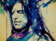 Harry potter Severus Snape digital Art paintings - Art pics & Design Now With Arabic content . ء