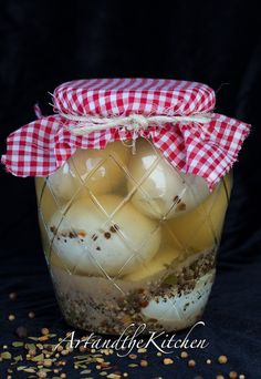 You will never buy store bought pickled eggs again once you've made your own my Mom's Pickled Eggs recipe!
