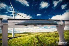 """Hyperloop: """"El avión solo tendrá sentido para larga distancia""""   Vía El País   #hyperloop #tren #tendencias #transporte"""
