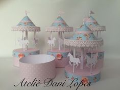 Should be easy to make. Carousel Birthday Parties, Unicorn Birthday Parties, Birthday Diy, Unicorn Party, Fiesta Baby Shower, Baby Shower Parties, Circus Crafts, Diy And Crafts, Crafts For Kids