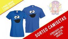 Consigue esta camiseta del MONSTRUO DE LAS GALLETAS, completamente GRATIS!!
