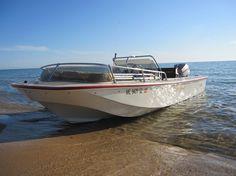 My Boston Whaler Newport on Lake Michigan. -Photo Credit © Jeff Rohlfing
