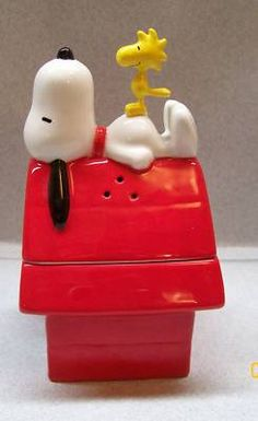 Salt and pepper shaker. OMG I want this. I mean who doesn't love snoopy and woodstalk