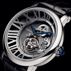 blacksuitswhitecollars:        Cartier Cadran Lové Tourbillon Watch …