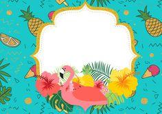 Uau! Veja o que temos para Convite Flamingo Tropical 3