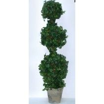 46'' IVY BALL POTTED