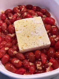 """Keto Viral Feta Tomato """"Pasta"""" - Killer Keto Feta, Keto Recipes, Cheese"""