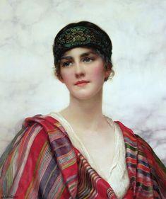 Cyrene Painting  - William Clark Wontner