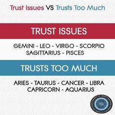 Aquarius... True.... And EVERYTIME I get fucked over... Not this time