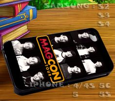 Magcon Boys For iphone 4 iphone 5 samsung by VOLTAGECUSTOMCASE, $14.88