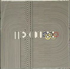 Mexico 68  Eduardo Terrazas (Mexican, born 1936) and Lance Wyman (American, born 1937)    1967. Offset lithograph