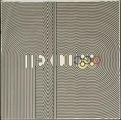 Mexico 68  Eduardo Terrazas (Mexican, born 1936) and Lance Wyman (American, born 1937)    1967. Offset lithograph