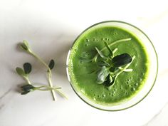 sunflower sprout smoothie