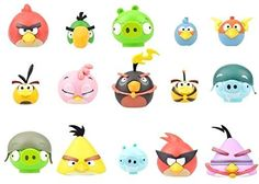 12 ANGRY BIRDS Knex Series 2 Blind Bag Characters Birthday Gift NEW #KNex