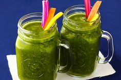 Rainbow Chard Smoothie Recipe | gimmesomeoven.com
