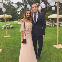 Zoe and Alfie at Tanya and Jims wedding