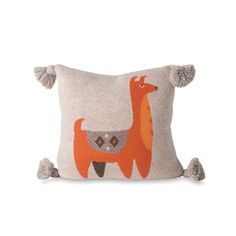 Bolivia's mountain creatures know just how to protect themselves against the cold, and the cheeky critter on the Alpaca Cushion Cover will look after you too. Cute Cushions, Cushion Covers, Home Furniture, Coin Purse, Reusable Tote Bags, Nursery, Throw Pillows, Wool, Inspiration