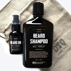Big Forest Beard Growth Kit Beard Wash  Beard Oil In a Rugged Linen Bag 100 Natural Blend of Premium Ingredients *** Be sure to check out this awesome product.