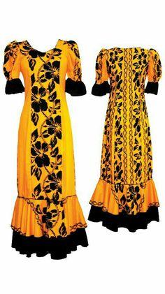 Island Wear, Island Outfit, New Dress Pattern, Dress Sewing Patterns, Hawaiian Fashion, Hawaiian Outfits, Samoan Dress, Island Style Clothing, Tiki Dress