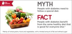 Time for Fact Check Friday! Each week we debunk a common misconception about diabetes. Please share this eye-opening fact with friends and family!