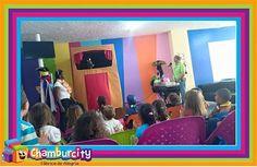 ¡Tiempo de títeres! Un espacio de diversión y entretenimiento para todos los niños de #Chamburciandoando.